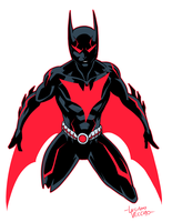 Batman Beyond Rebirth by LucianoVecchio
