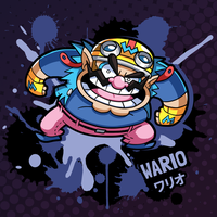 SMASH 150 - 017 - WARIO by professorfandango