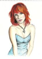 Hayley Williams by thegreatperhapss