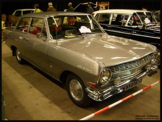 1965 Opel  Rekord by compaan-art