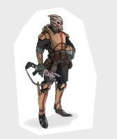 Turian Soldier by JHKris