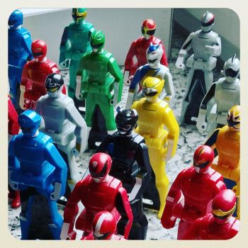 Gashapon Ranger keys by fumpenfoto