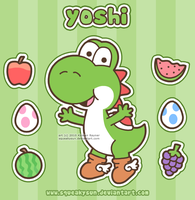 Yoshi time by SqueakyToybox
