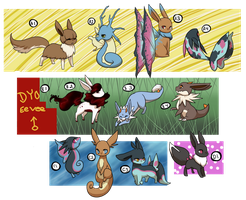 PKMNation treading water clutch by kitzune-griffith