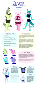 (open species) Snyanthro guidelines! by Queijac