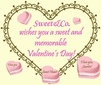 Happy Valentine's Day by SweetandCo