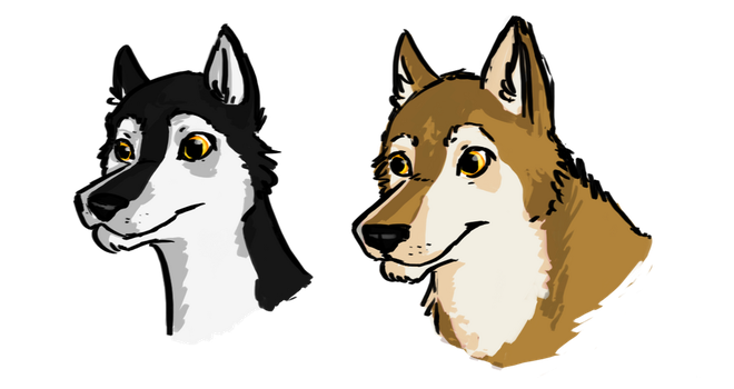 Zephyr and Sequana by Selsea012