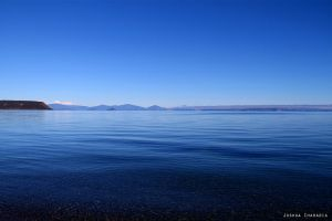 Blue Taupo by joshification