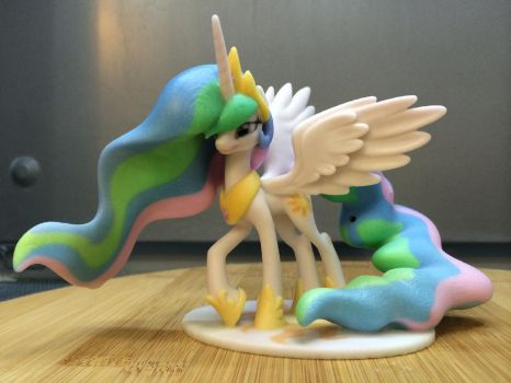 Princess Celestia Posed 110mm Left by Lil3DPrinting