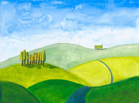 Tuscany Hills Springsmall by silvastrings