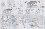 Some drawings in 1 image by Waltman13