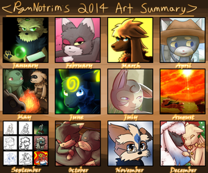 RymNotrim's 2014 Art Summary by RymNotrim