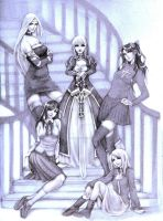 Fate Stay night -sketch- by jurithedreamer