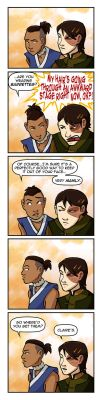 Sokka n' Zuko: Manly Man Hair by AliWildgoose