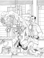 daily bugle inks by thenota