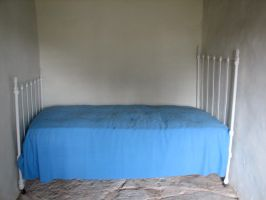 Blue Bed 1 by Altaria13-Stock