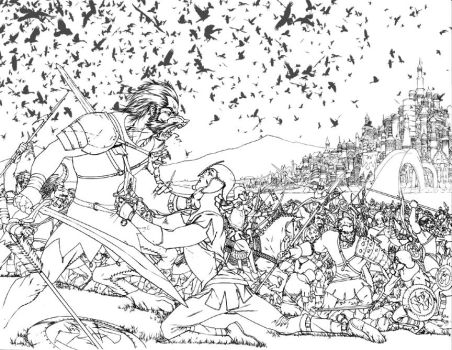 WOT Lithograph pencils by UnderdogMike