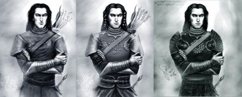Outfit concepts for Fingon by Sirielle