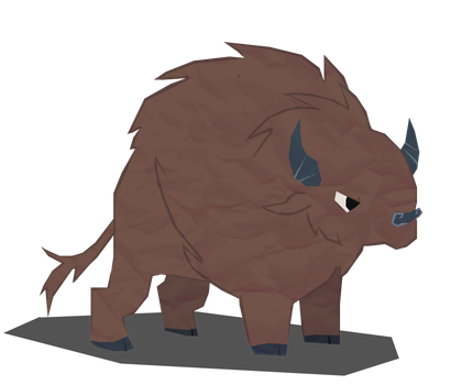 It's a Buffalo by TwistedGale