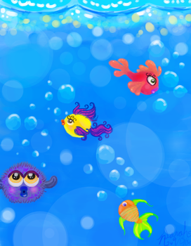 Fish in the sea... by savvy-weasley