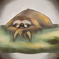 Sloth by KeiraHarcourt