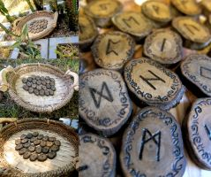 Ironwood Runes no. 3 by ValkyrieOfODIN