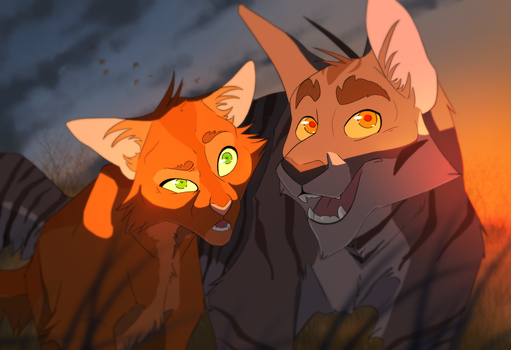 Now you can look - Warriors by ScalyFloof