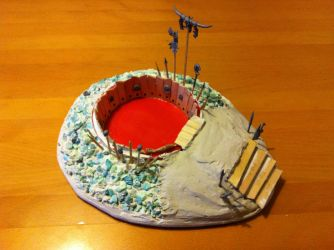 Dice Pit Project - WIP Step 5 by Cronos-Stef