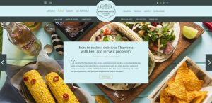 Food  Recipes web template by sunnygoldeneye