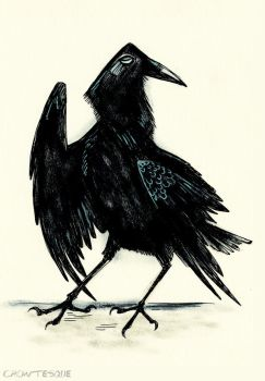 The Raven by Crowtesque