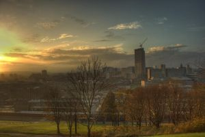 Sheffield Cityscape by Heresiarch81