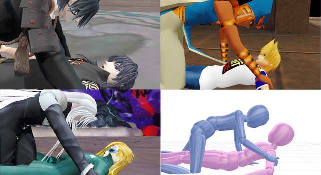 MMD Yaoi Pose Download by Entzminger500
