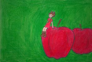 Apples and Arrietty by geek96boolean10