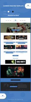 GAMERS PSD Template by kingsol04