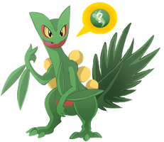 Yo Remakes, Sceptile Wants a... by SoftMonKeychains