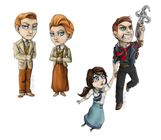 Bioshock Key chains pt2 by Boburto