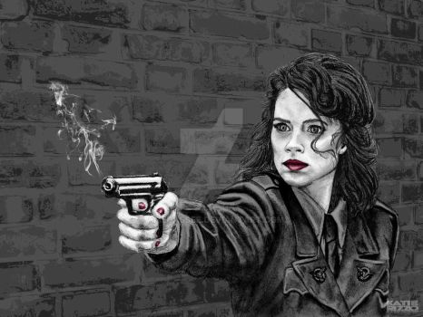 Peggy Carter by AmeCassee