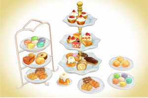 Deluxe Cake pack + cake stands MMD download by Hack-Girl