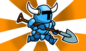 Shovel Knight by Pyrosaur