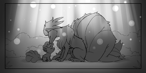 Screenshot Redraw: Fire and Ice by Amphleur-de-Lys