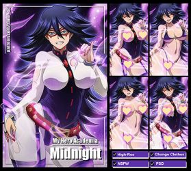 Midnight (My Hero Academia) PACK by Sano-BR