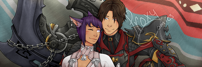 Aph Banner - Comm by ProxyComics