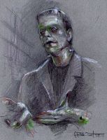 Frankenstein 1931 by Fusciart