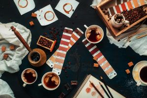 Shades of coffee by dinabelenko