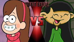 Mabel Pines vs. Numbuh 3 by OmnicidalClown1992