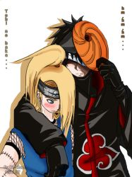 Tobi, u're too close... xD by Anko-sensei