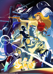 Saber Rider and The Star Sheriffs by HeavyMetalHanzo