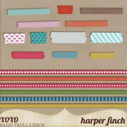 In the Woods Washi Tape and Ribbon by Harper Finch by harperfinch