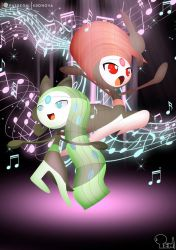 Meloetta - The dance muse by EdoNovaIllustrator