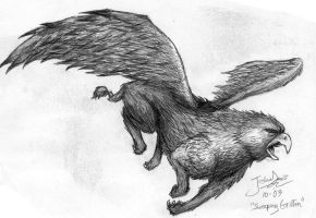 Griffon thing by Frogman87